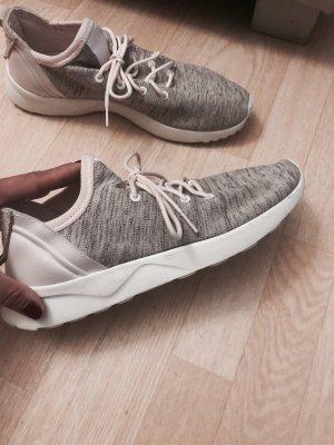 Adidas Basket à lacet gris-rosé