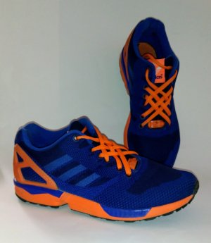 Adidas ZX Flux blau orange Gr 40 2/3 top