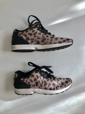 Adidas Zx Flux Sneaker Leopardenmuster