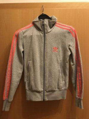 Nike Giacca sport grigio chiaro-arancio neon