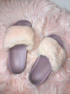 Amazone Zapatillas para casa rosa