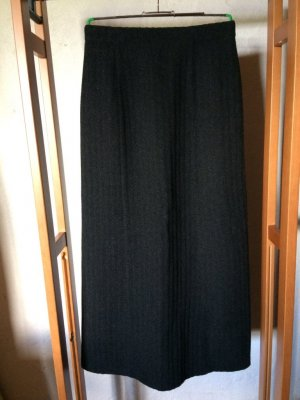 Admont Maxi Skirt black-anthracite
