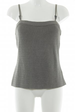 Admont Top lavorato a maglia marrone-grigio stile casual