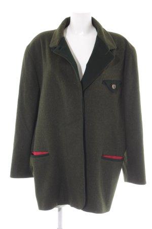 Admont Giacca di lana verde scuro stile classico