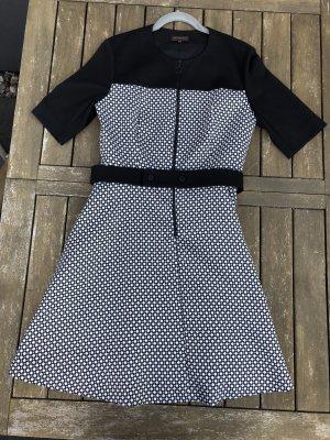 Adolfo Dominguez Dress white-black