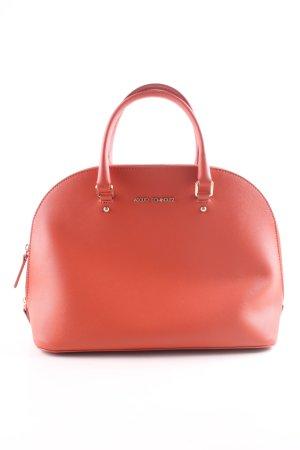 Adolfo Dominguez Handbag red business style
