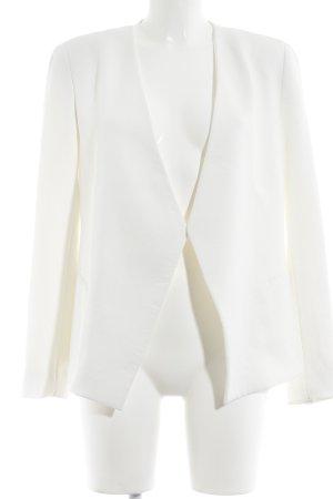 Adolfo Dominguez Long-Blazer weiß Elegant