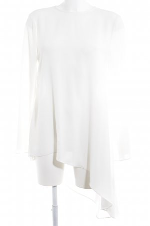 Adolfo Dominguez Long Blouse natural white casual look
