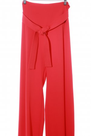Adolfo Dominguez Marlene Trousers red '20s style