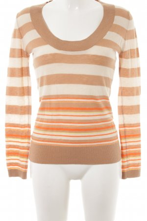 Adolfo Dominguez Knitted Sweater striped pattern casual look