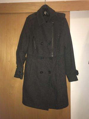 Adolfo Dominguez Wool Coat dark grey