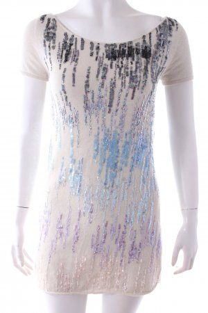 Adore Top creme sequined
