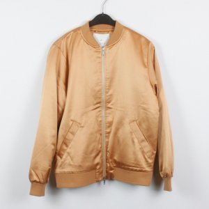 Blouson gold-colored-light orange polyester