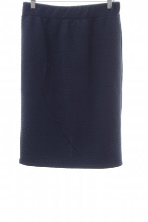 ADPT. Midi Skirt blue quilting pattern business style