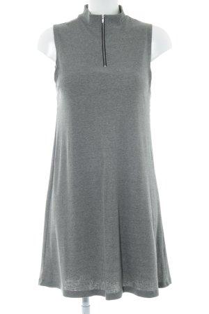 ADPT. Robe t-shirt gris style décontracté