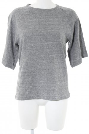 ADPT. Sweat Shirt light grey flecked casual look
