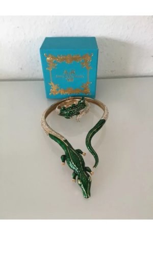 Anna Dello Russo for H&M Collier Necklace gold-colored-green