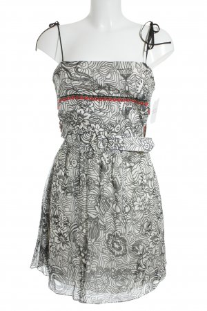 Adriana Barra Minikleid Blumenmuster Romantik-Look
