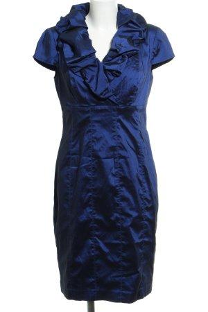 Adrianna Papell Abendkleid blau extravaganter Stil