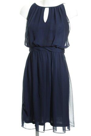 Adrianna Papell Chiffonkleid dunkelblau Elegant