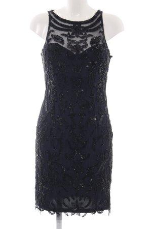 Adrianna Papell Cocktailjurk zwart zakelijke stijl