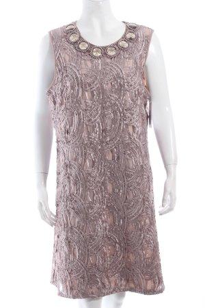 Adrianna Papell Kleid altrosa abstraktes Muster extravaganter Stil