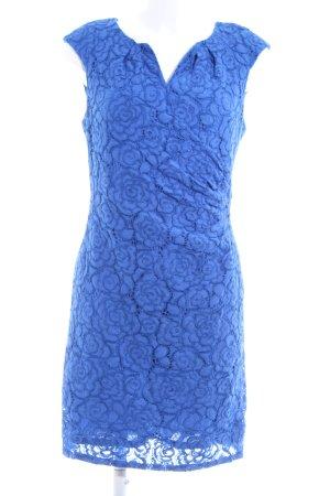 Adrianna Papell Spitzenkleid blau Elegant