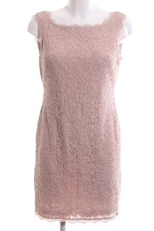 Adrianna Papell Spitzenkleid pink Blumenmuster Elegant