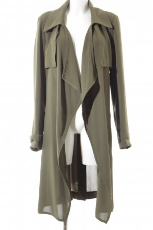 Adrianna Papell Between-Seasons Jacket khaki street-fashion look