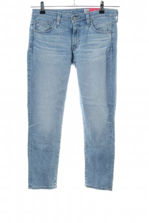Adriano Goldschmied 7/8-jeans blauw casual uitstraling