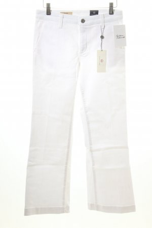 "Adriano Goldschmied 7/8 Length Jeans ""THE LAYLA Trouser Flare Crop"" white"