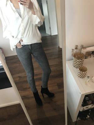 Adriano Goldschmied AG Skinny Jeans Grau 25/26 Luxus