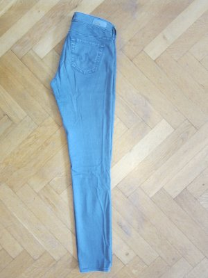 Adriano Goldschmied Drainpipe Trousers silver-colored