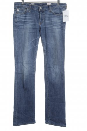Adriano Goldschmied Boot Cut Jeans steel blue jeans look