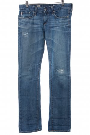 Adriano Goldschmied Boyfriend Jeans steel blue casual look