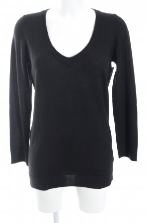 Adriano Goldschmied Cashmere Jumper black simple style