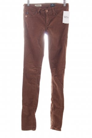 Adriano Goldschmied Corduroy Trousers brown casual look