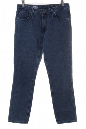 Adriano Goldschmied Corduroy Trousers steel blue casual look
