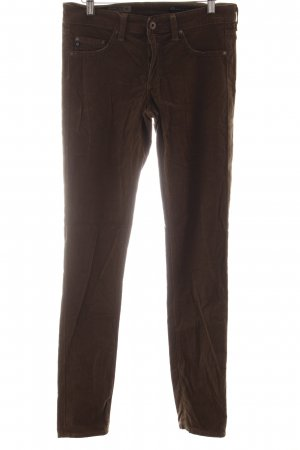 "Adriano Goldschmied Pantalon en velours côtelé ""The Jegging"" vert olive"