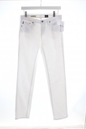 "Adriano Goldschmied Five-Pocket Trousers ""The Still"" white"
