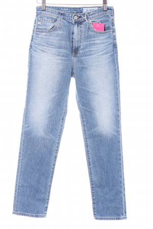 "Adriano Goldschmied Jeans a vita alta ""The Phoebe"" blu acciaio"