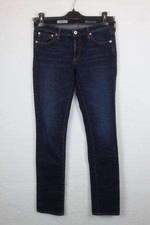 Adriano Goldschmied Hose Jeans Skinny Straight Gr. 27 dunkelblau (18/3/099)