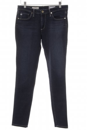 Adriano Goldschmied Low Rise Jeans dark blue casual look