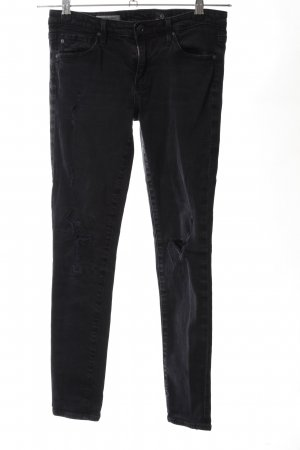 Adriano Goldschmied Low Rise Jeans black casual look