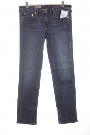 Adriano Goldschmied Low Rise Jeans steel blue casual look