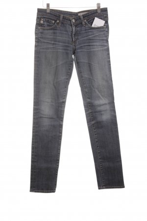 Adriano Goldschmied Low Rise Jeans steel blue simple style