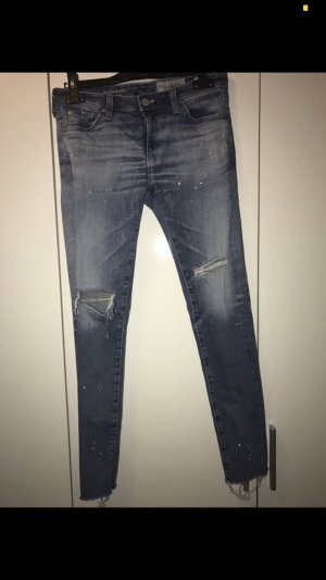 Adriano Goldschmied Tube Jeans blue