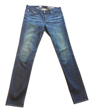 Adriano Goldschmied Skinny Jeans blue cotton