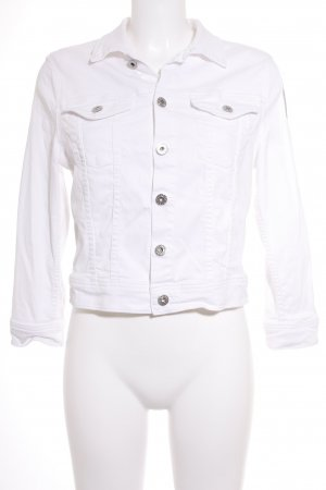Adriano Goldschmied Denim Jacket white casual look