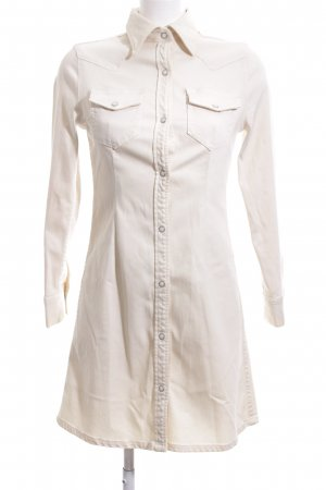 Adriano Goldschmied Denim Dress cream casual look
